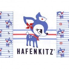 Hafenkitz Stripes blau Panel