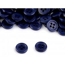 Mini-Knopf dunkelblau