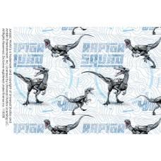 Jurassic World Stretchjersey Digitaldruck