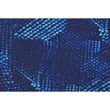 Badelycra Muster blau