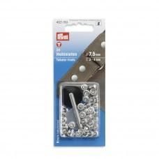 Prym Hohlnieten 3-4mm silber