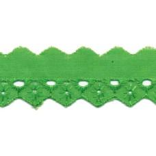 Madeira Spitze grün 20 mm