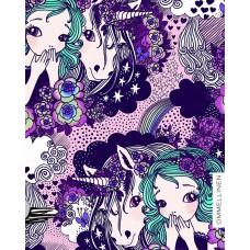 Secret violet Stretch-Jersey