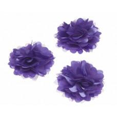 Stoffblume lila