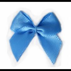 5 Schleifchen 2,4 cm himmelblau