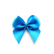 5 Schleifchen 2,4 cm blau