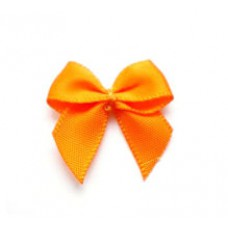 5 Schleifchen 2,4 cm orange