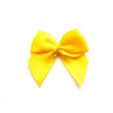 5 Schleifchen 2,4 cm gelb