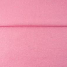 Glitzerbündchen glatt rosa