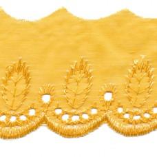 Madeira Spitze gelb 50 mm