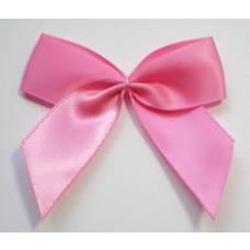 Satin Schleife pink 6,5cm