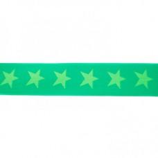 Sternen Gummiband grün 40 mm