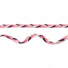 Flechtband pink-sand