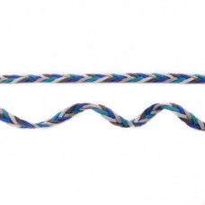 Flechtband blau-türkis