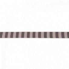 Webband Streifen grau