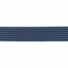 Gummiband Streifen dunkelblau 40 mm