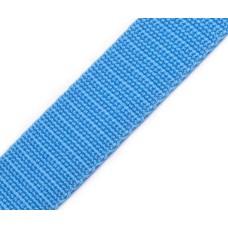 Gurtband 30 mm hellblau