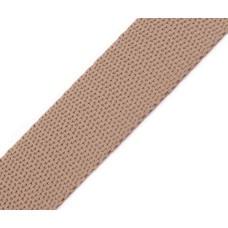 Gurtband 30 mm taupe