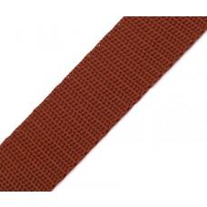 Gurtband 30 mm braun