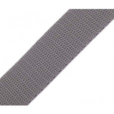 Gurtband 30 mm mittelgrau