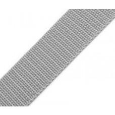 Gurtband 30 mm hellgrau