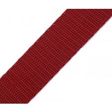 Gurtband 30 mm weinrot