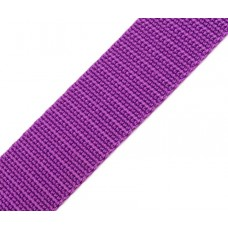 Gurtband 30 mm lila