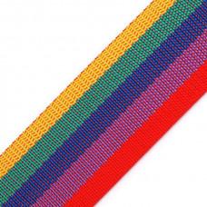 Gurtband 30 mm Rainbow