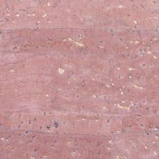 Kork rosa mit Gold ca. 50 x 70 cm