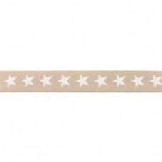 Sternen Gummiband sand 20 mm