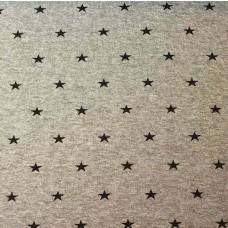 Bündchen Sterne hellgrau