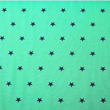 Bündchen Sterne mint