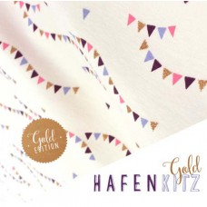 Hafenkitz Gold Kombi Jersey 65 cm Reststück