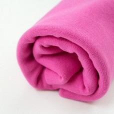 Bio-Bündchen Stoffonkel Very Pink 25 cm Reststück
