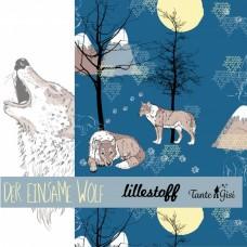 Der einsame Wolf Bio-Summersweat Lillestoff