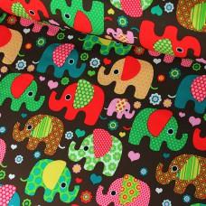 Softshell Elefanten braun