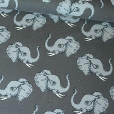 Elephant grey BIO-Jersey