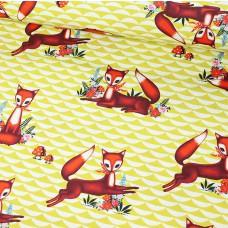 Foxy Baumwolle Webstoff