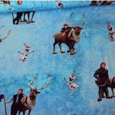 Christoph & Olaf Frozen Stretchjersey 90 cm Reststück