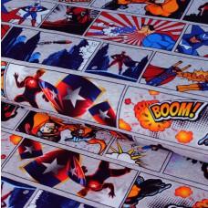Superhelden Jersey 30 cm Reststück
