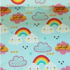 Regenbogen Wolken Jersey