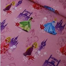 Prinzessinen Stretchjersey rosa