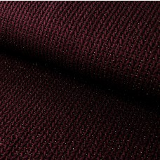 BIG Knit Knit GLAM Jacquard-Jersey bordeaux