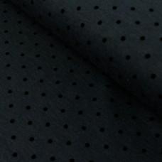 Romanit Jersey Punkte schwarz