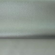Lederimitat metallic silber 70 x 50 cm