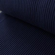 Grobripp Bündchen dunkelblau