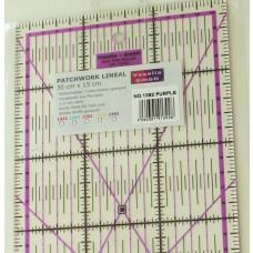 Patchwork Lineal 30 x 15 cm purple