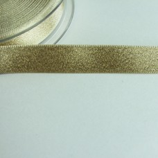 Glitzer-Satinband 15mm creme