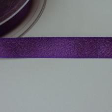 Glitzer-Satinband 15mm lila