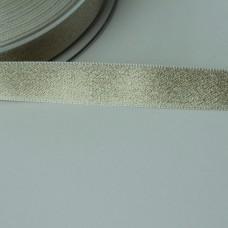 Glitzer-Satinband 15mm weiß